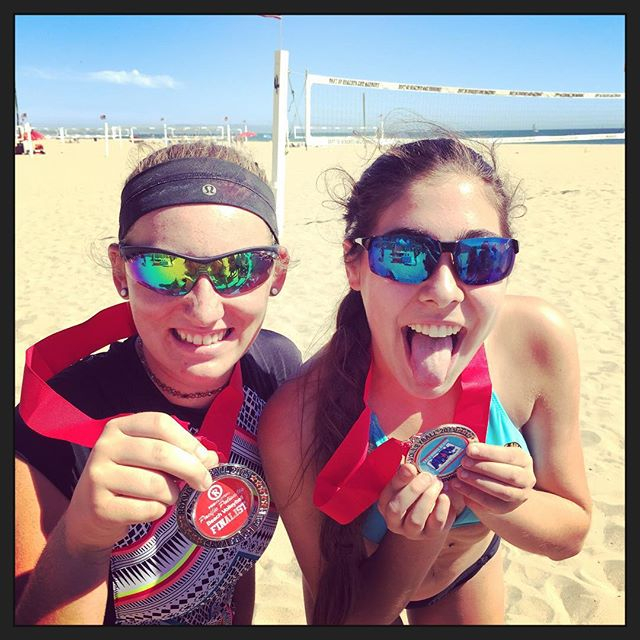 Speed School athletes on the beach – and the podium