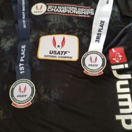 Gold and Bronze at US Nationals for Woody