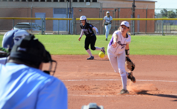 Tanner Clutch in Softball Playoff Win