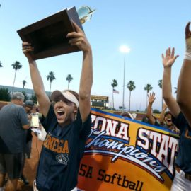 Doughty and Cienega Win 3rd State Title